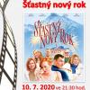 plakát filmovému představení ŠŤASTNÝ NOVÝ ROK