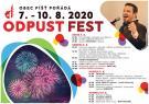 plakát k odpustovým slavnostem ODPUST FEST