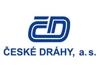 Na obrázku logo České dráhy a.s.