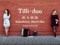 plakát ke koncertu TILLI-DUO