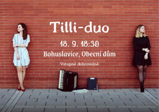 plakát kekoncertu TILLI-DUO