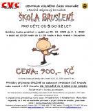 plakát k akci ŠKOLA BRUSLENÍ