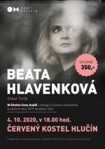 plakát k akci BEATA HLAVENKOVÁ