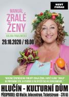 plakát k akci HALINA PAWLOWSKÁ /Manuál zralé ženy/
