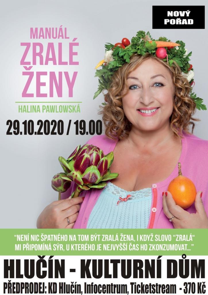 plakát kakci HALINA PAWLOWSKÁ /Manuál zralé ženy/