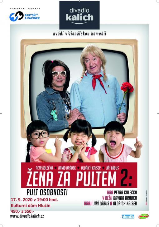plakát kakci ŽENA ZAPULTEM 2