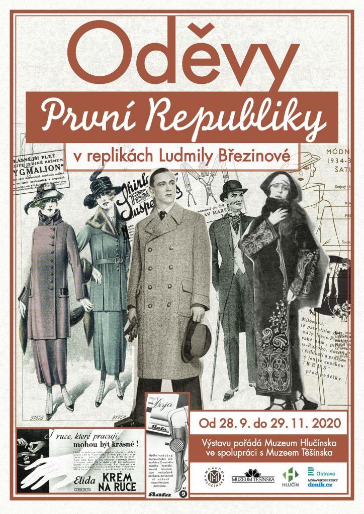 Plakát Oděvy první republiky