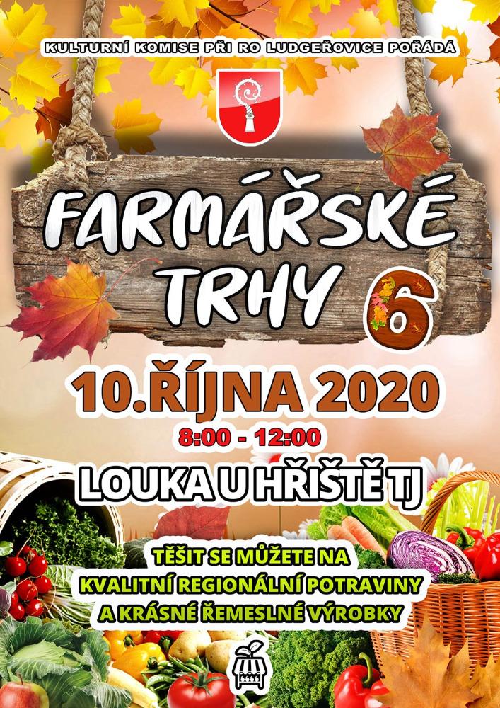 Plakát Ludgeřovice farmářské trhy