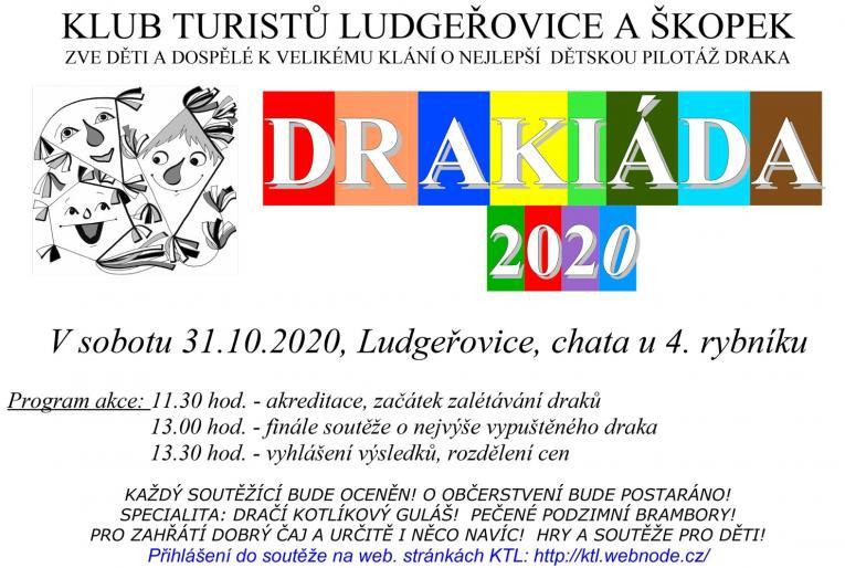 Plakát Drakiáda Ludgeřovice