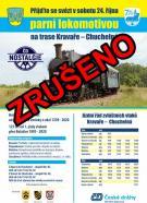 Plakát - Parní lokomotiva - zrušeno