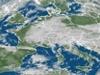 na obrázku mapa s mraky