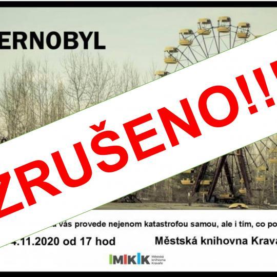 Obr. Černobyl zrušeno