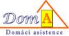 Na obrázku logo Domácí asistence