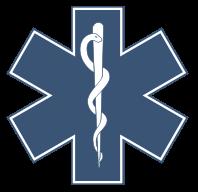 Na obrázku logo Lékařské komory