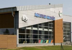Obrázek budovy aquaparku