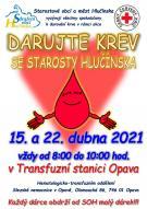 Plakát Darujte krev