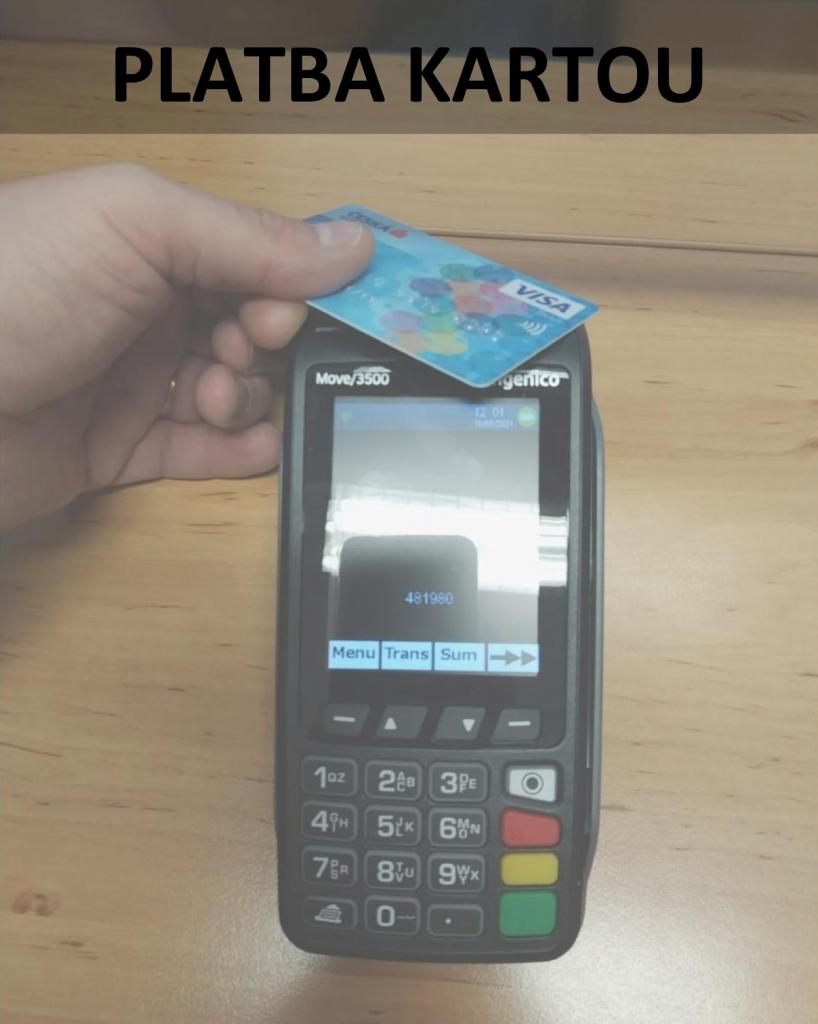 Obr. platba kartou