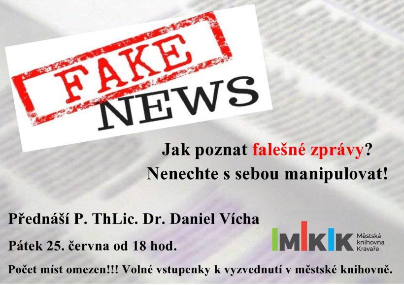 Plakát Fake News