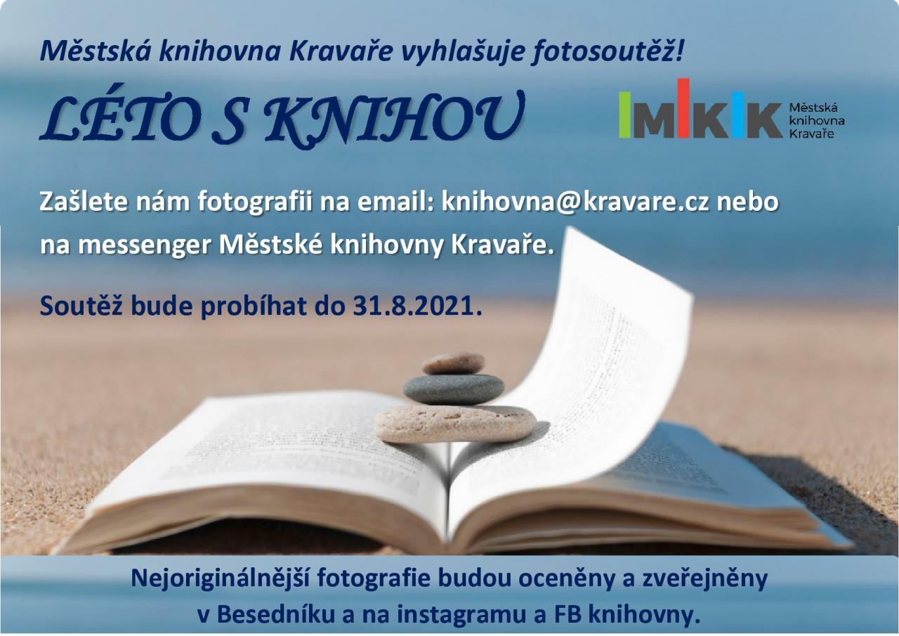 Plakát - Fotosoutěž: Léto s knihou