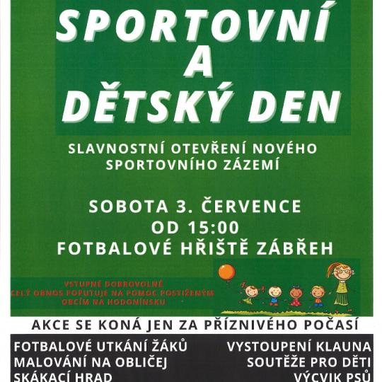 sportovní a dětský den