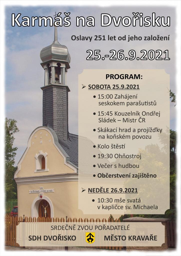 Plakát Karmáš naDvořisku