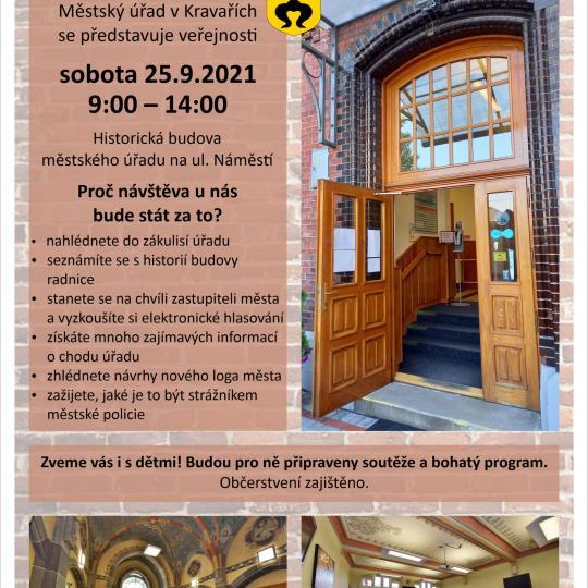 Plakát Den otevřených dveří