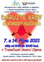 Plakát - Darování krve